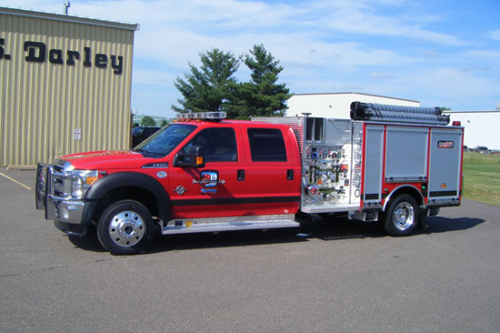 darley 1500 GPM demo vehicle